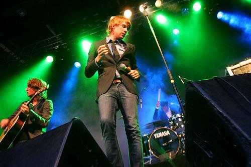 2005-07-21 - Deportees spelar på Trästockfestivalen, Skellefteå