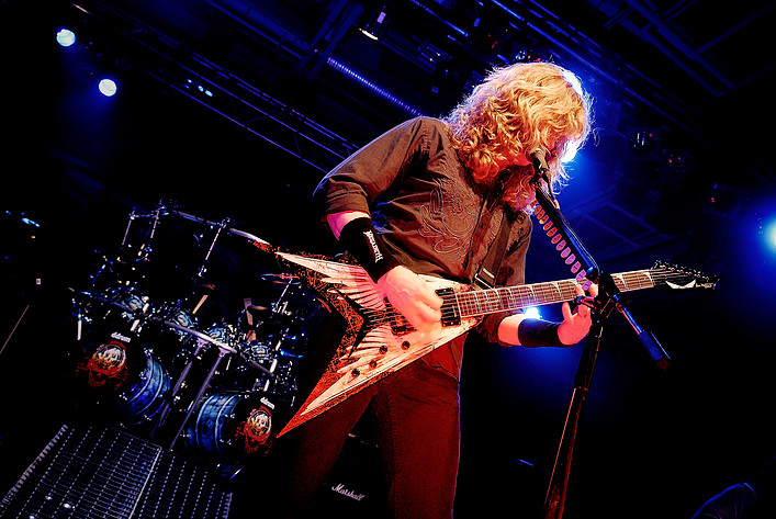 2008-02-06 - Megadeth performs at Arenan, Stockholm