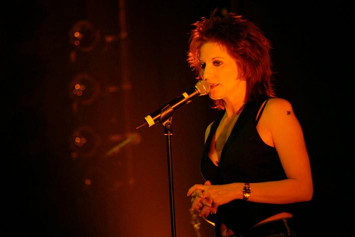 2008-04-06 - Anne-Lie Rydé spelar på Rival, Stockholm