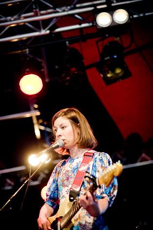 2008-05-31 - Britta Persson spelar på Siesta!, Hässleholm