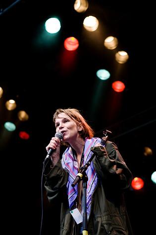 2008-07-17 - Anna Järvinen performs at Trästockfestivalen, Skellefteå