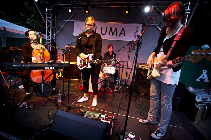 2008-08-21 - Audrey performs at Malmöfestivalen, Malmö