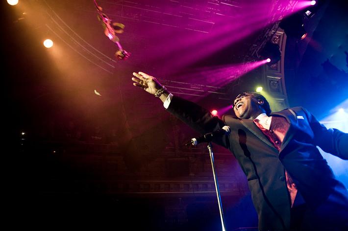 2008-11-08 - Al Green spelar på Berns, Stockholm