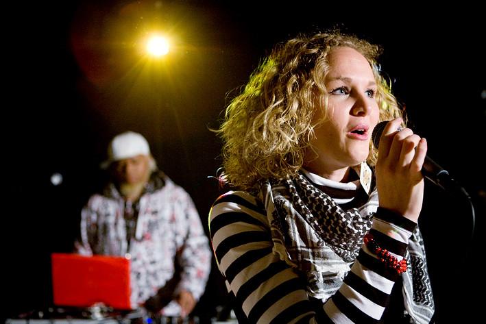 2008-11-28 - Saft Stockholm performs at Digital Tone Festival, Umeå