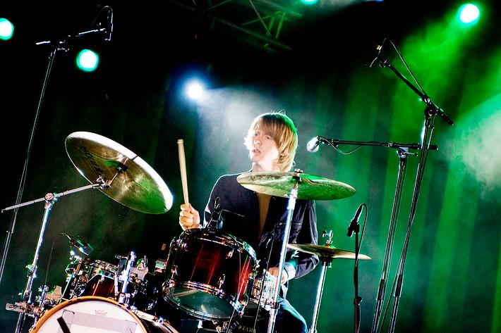 2009-06-26 - Erik Hassle spelar på Peace & Love, Borlänge