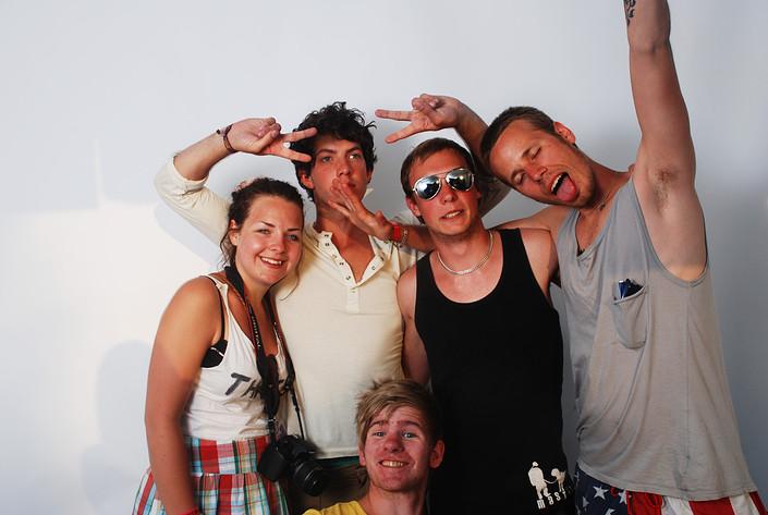 2009-06-27 - Rockfotostudion spelar på Peace & Love, Borlänge