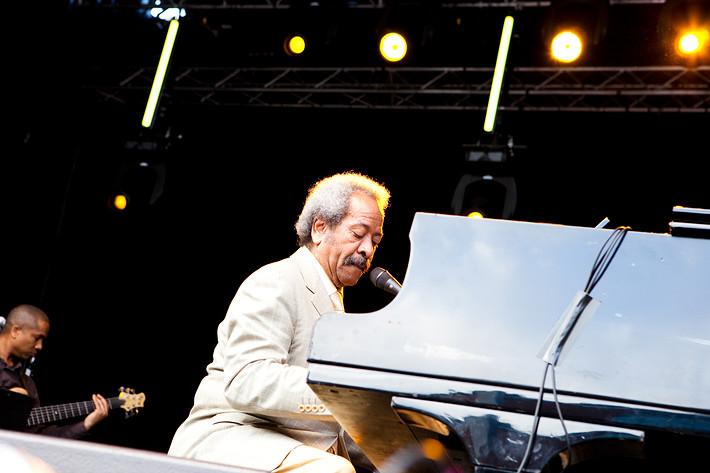 2009-07-15 - Allen Toussaint performs at Stockholm Jazz Festival, Stockholm