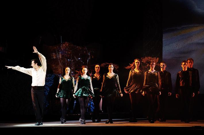 2010-01-10 - Riverdance spelar på Annexet, Stockholm