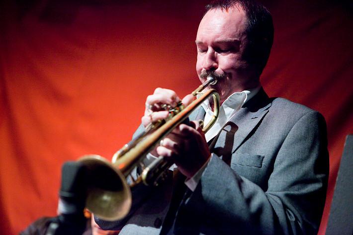 2010-01-29 - Håkan Broström spelar på Fasching, Stockholm
