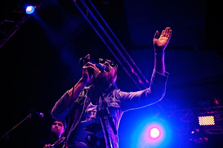 2010-07-01 - The Animal Five spelar på Peace & Love, Borlänge