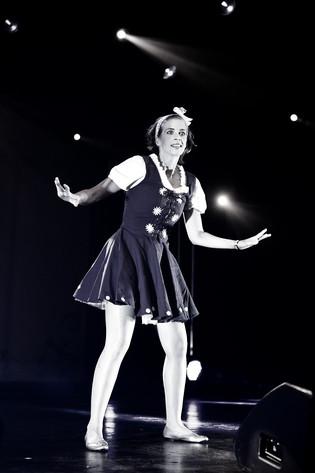 2011-06-29 - Anna Granath performs at Peace & Love, Borlänge