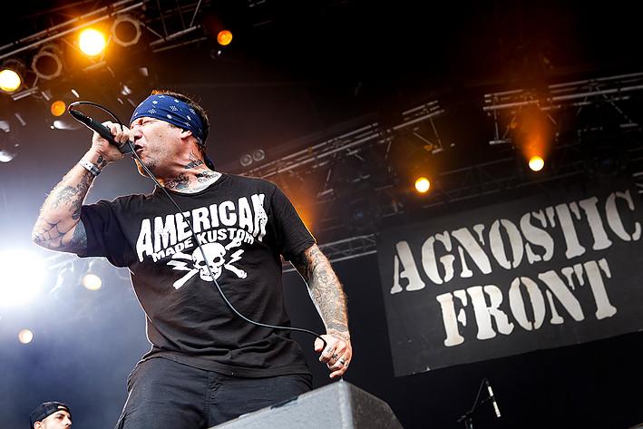 2011-07-08 - Agnostic Front spelar på Getaway Rock, Gävle