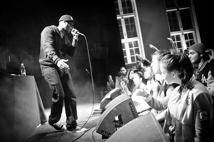 2012-02-28 - Talib Kweli performs at Babel, Malmö