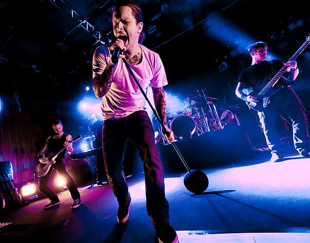 2012-03-18 - Takida performs at Trädgår'n, Göteborg