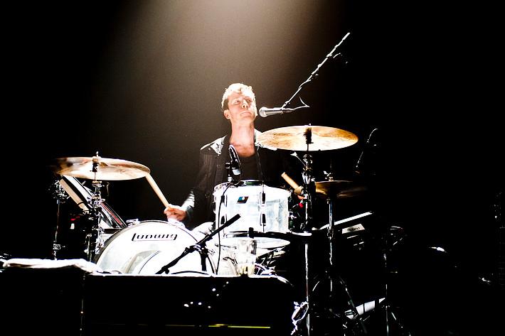 2012-03-31 - Markus Krunegård performs at Umeå Open, Umeå