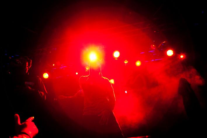 2012-03-31 - Dead Prez performs at Sticky Fingers, Göteborg