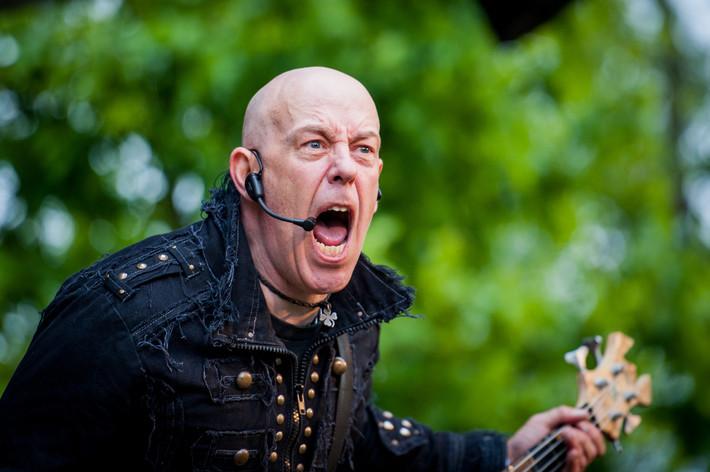 2012-06-01 - M-pire of evil spelar på Muskelrock, Alvesta