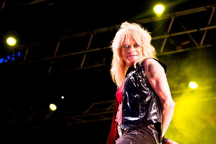 2012-06-30 - Michael Monroe spelar på Peace & Love, Borlänge