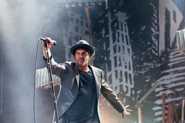 2012-06-30 - Thåström spelar på Peace & Love, Borlänge