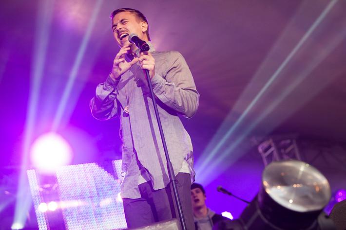 2012-08-24 - Albin Gromer spelar på Malmöfestivalen, Malmö