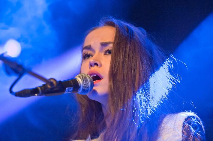 2013-02-16 - Amanda Mair spelar på Bierhübeli, Bern