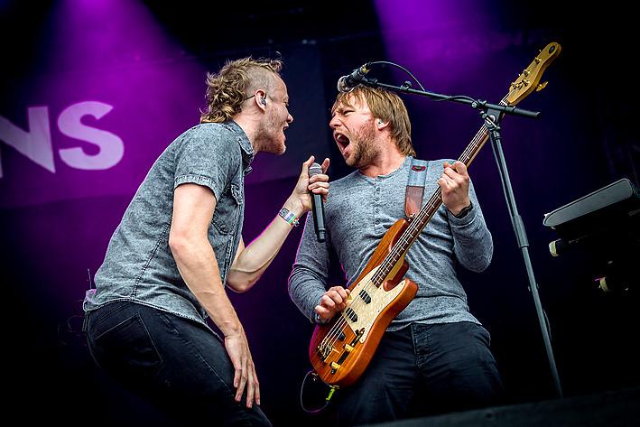 2013-06-13 - Imagine Dragons spelar på Stoxa, Stockholm