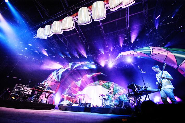 2013-07-04 - Animal Collective spelar på Roskildefestivalen, Roskilde