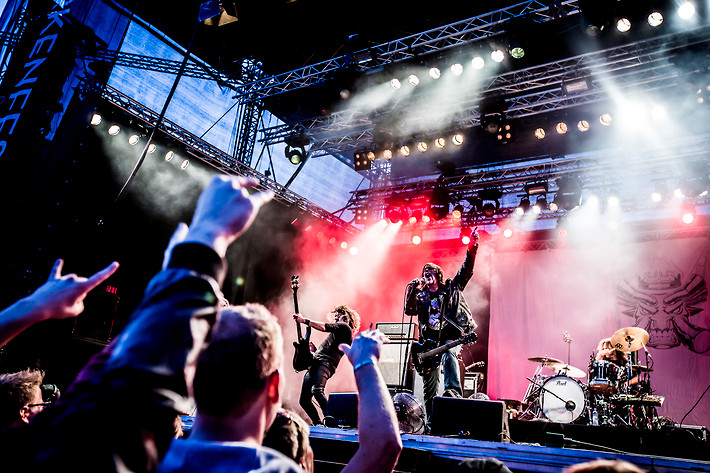 2013-08-16 - Monster Magnet performs at Parkenfestivalen, Bodø