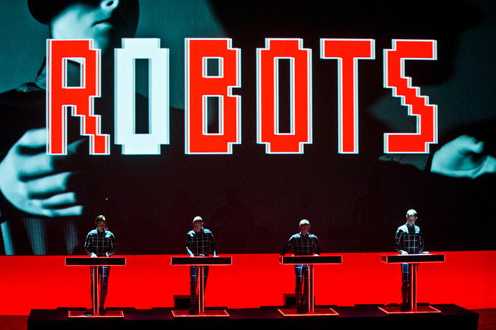 2014-01-21 - Kraftwerk performs at Cirkus, Stockholm