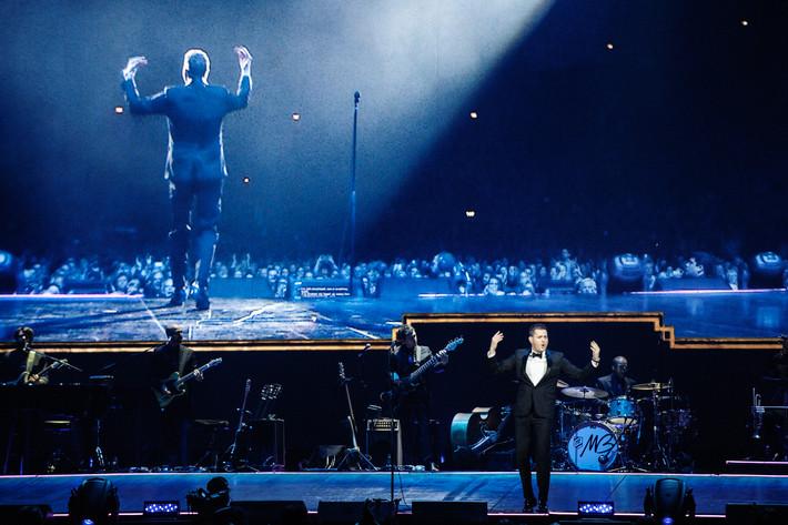 2014-02-23 - Michael Bublé spelar på Globen, Stockholm