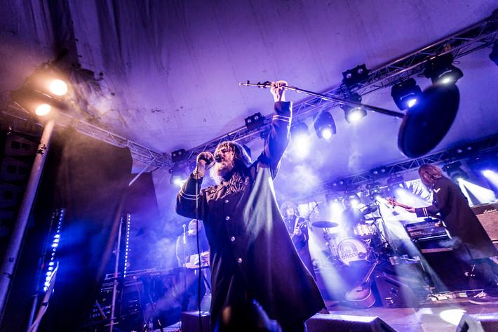 2014-08-02 - Ebbot Lundberg performs at Storsjöyran, Östersund