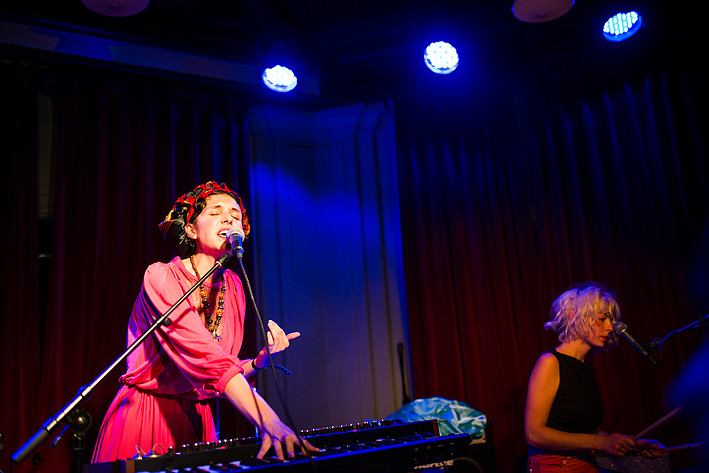 2014-08-22 - Amina Hocine performs at Pustervik, Göteborg