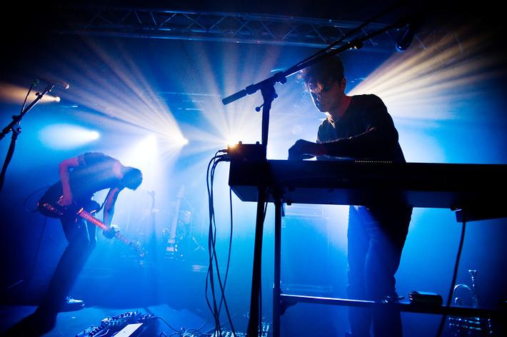 2014-10-09 - The Antlers spelar på Debaser Hornstulls Strand, Stockholm