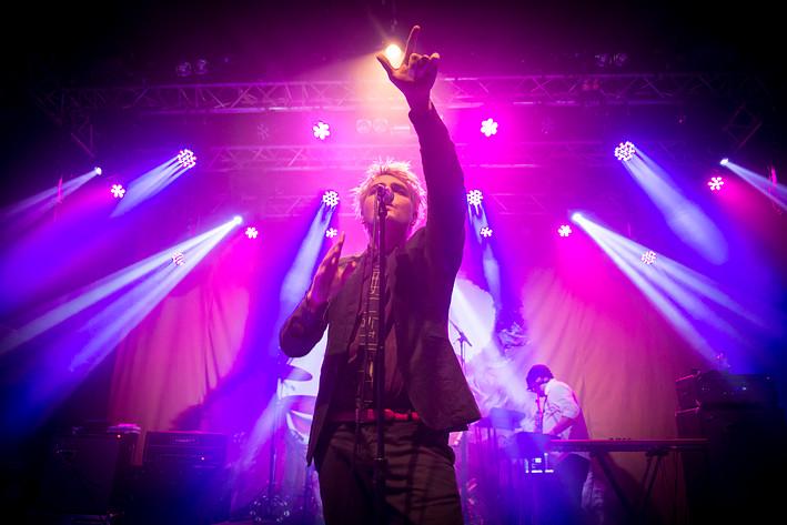 2015-02-03 - Gerard Way spelar på Klubben, Stockholm