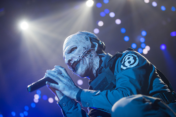 2015-02-11 - Slipknot performs at Hovet, Stockholm