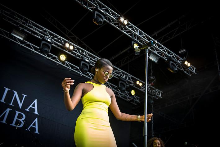 2015-08-28 - Sabina Ddumba performs at Popaganda, Stockholm