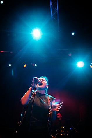 2015-10-09 - Allvaret performs at Pustervik, Göteborg