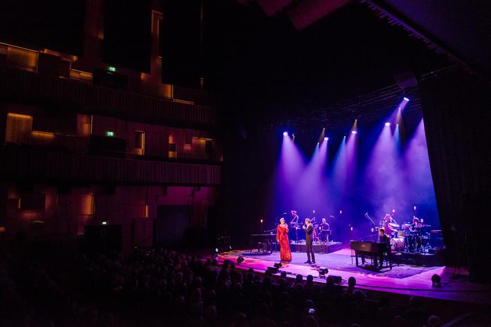 2015-11-21 - Sanna Nielsen & Anders Glenmark spelar på Malmö Live Konserthus, Malmö