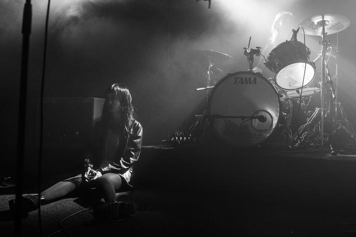 2016-01-09 - Dolores Haze performs at Debaser Hornstulls Strand, Stockholm