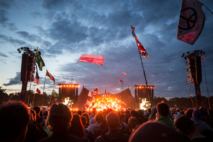 2016-06-29 - Red Hot Chili Peppers spelar på Roskildefestivalen, Roskilde