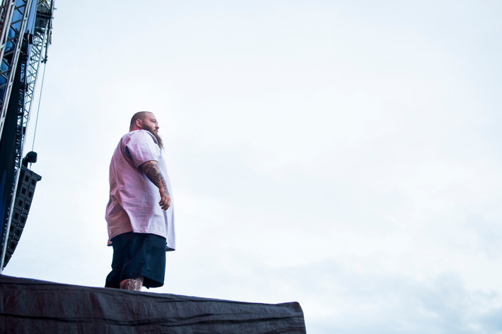 2016-07-01 - Action Bronson performs at Bråvalla, Norrköping