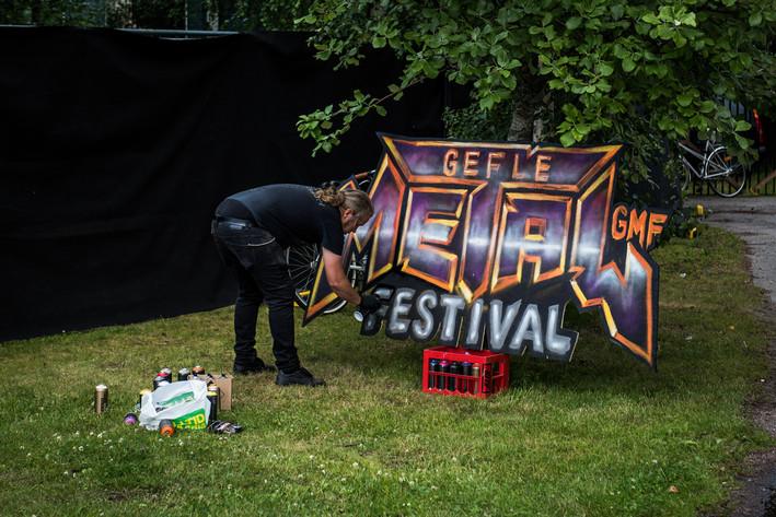 2016-07-15 - Områdesbilder performs at Gefle Metal Festival, Gävle