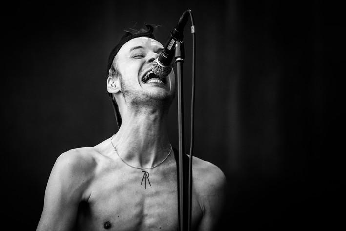 2016-07-16 - Mantar performs at Gefle Metal Festival, Gävle