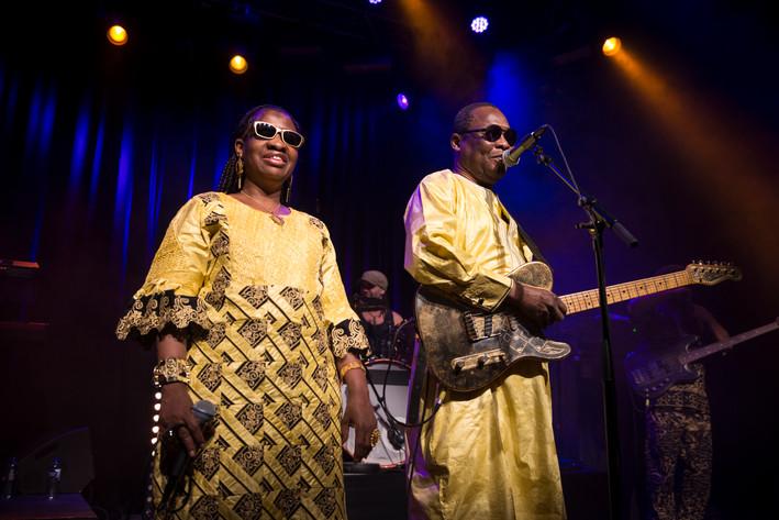 2016-11-17 - Amadou & Mariam performs at Kulturhuset, Stockholm