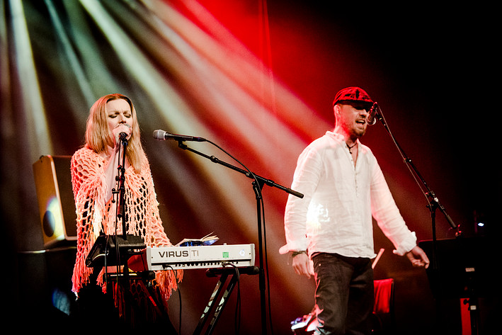 2017-02-03 - Kroke & Anna Maria Jopek spelar på Södra Teatern, Stockholm