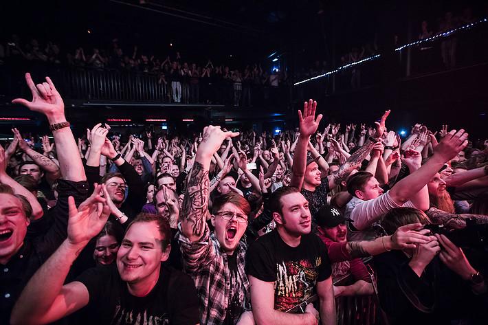 2017-03-19 - In Flames spelar på Pustervik, Göteborg