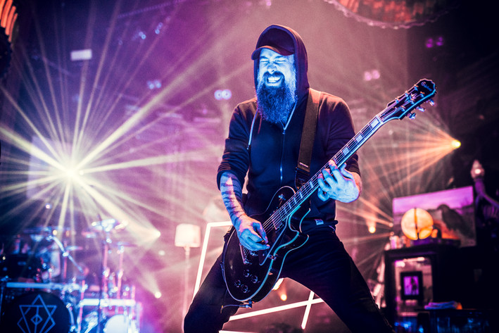 2017-03-20 - In Flames performs at Berns, Stockholm