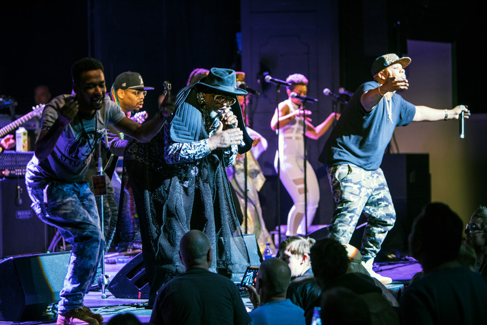 2017-05-08 - George Clinton & Parliament Funkadelic performs at Göta Lejon, Stockholm