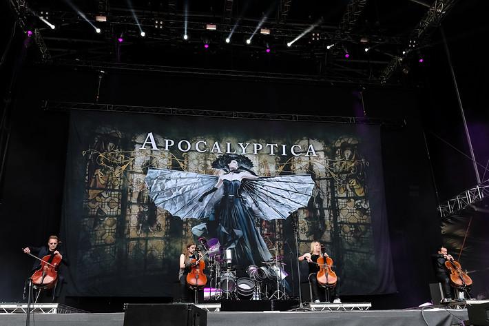 2017-06-09 - Apocalyptica spelar på Greenfield Festival, Interlaken