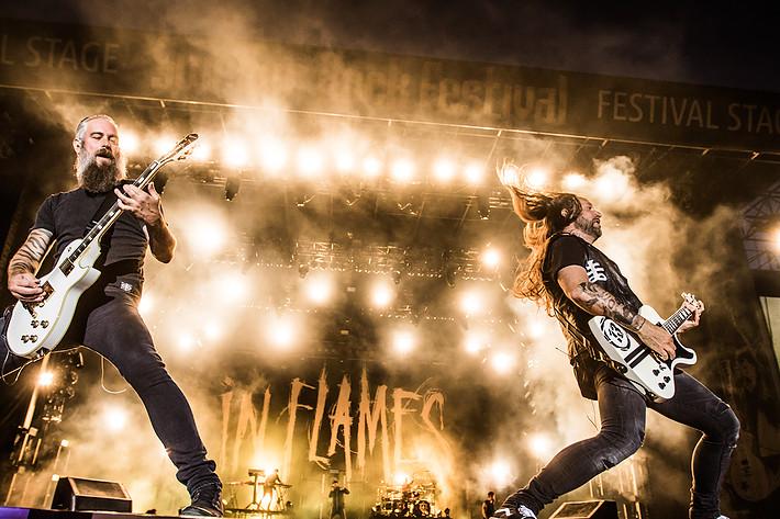 2017-06-10 - In Flames spelar på Sweden Rock Festival, Sölvesborg